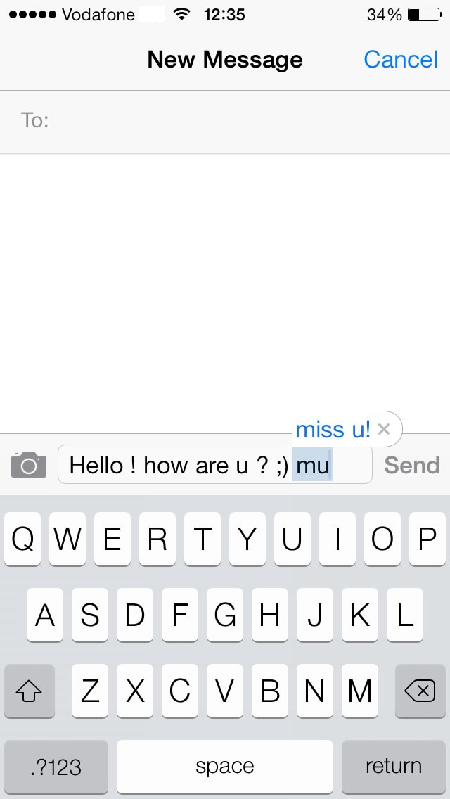 How To Add and Use iPhone 5s Keyboard Shortcuts