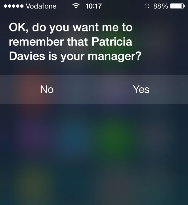 Use Siri to Add Relationships and Simplify Voice Commands
