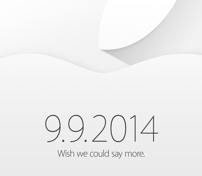 iPhone 6 To Be Officially Released on 9/9/2014