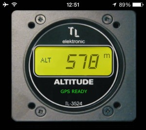 iphone altimeter