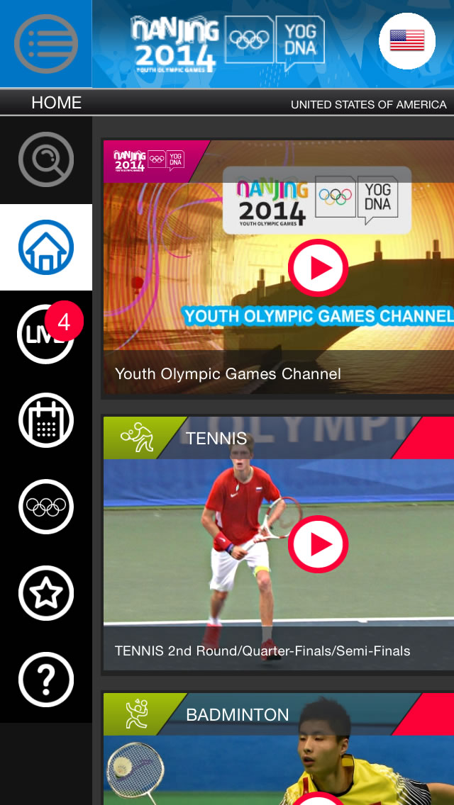 Watch the 2014 Nanjing Youth Summer Olympics Live on Your iPhone