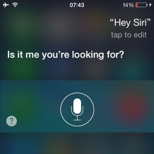 hey siri feature