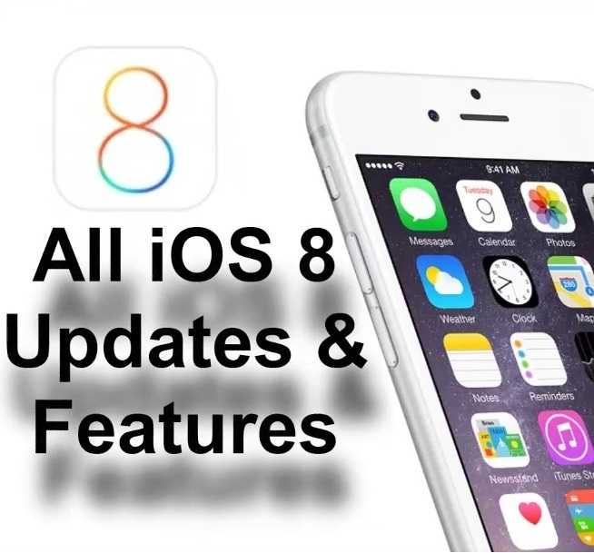 iOS 8 New Features and Updates