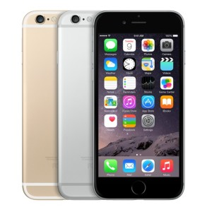 iphone 6 gold, silver and space gray