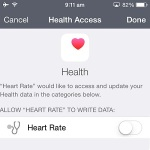 heart rate data sharing