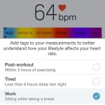 heart rate reading analyzis
