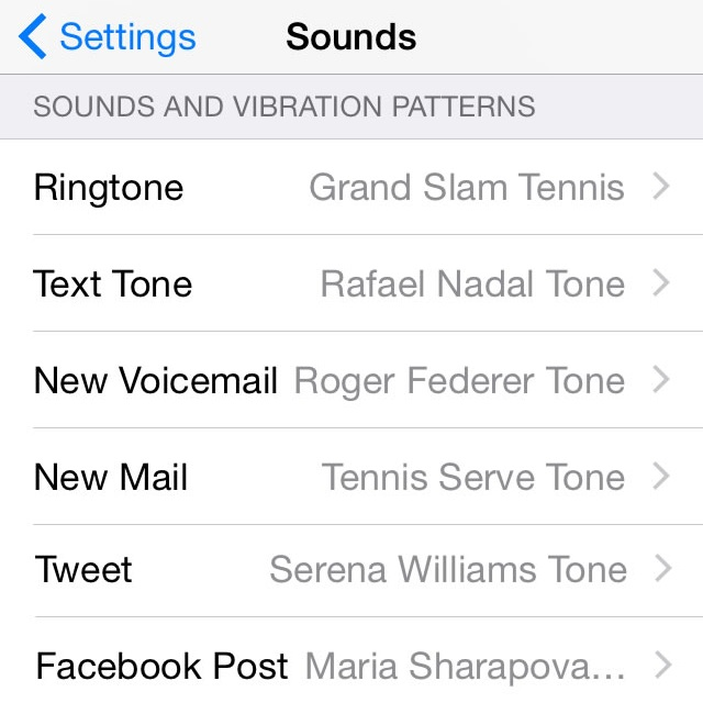 Download Free iPhone Tennis Tones For Alerts