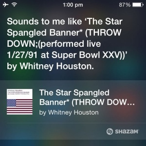siri knows the song