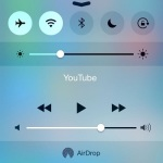 ios control center brightness setting