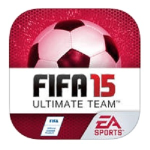 ios fifa 15 ultimate team red logo