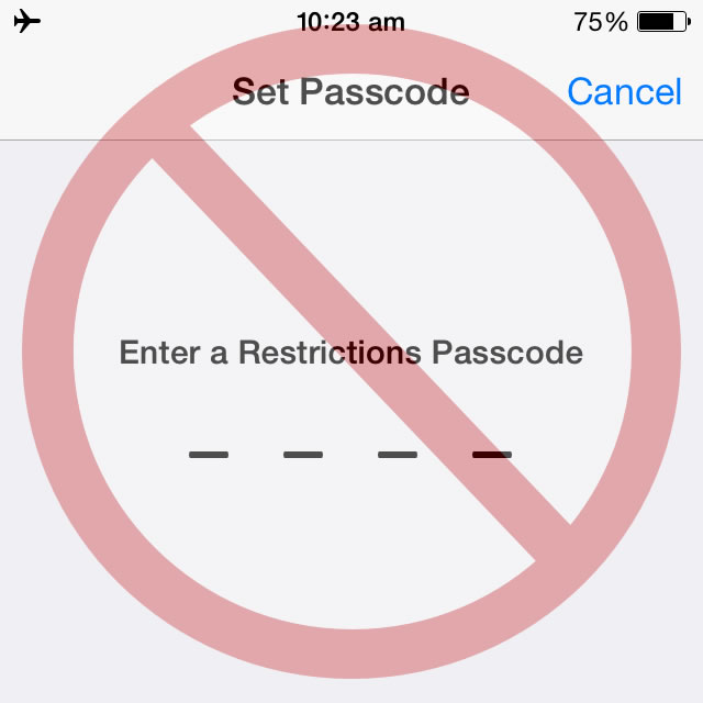 5 Reasons To Use iOS Restrictions Feature