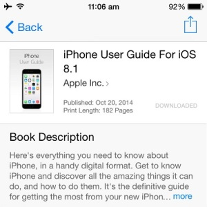 iphone and ios 8.1 user guide