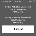 iphone call barring activation