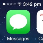 iphone low carrier signal display