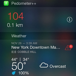 iPhone Notification Center Widget Setup and Configuration