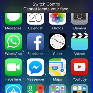 iphone switch control in use