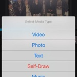 add media to iphone video