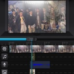editing video with cute cut for iphone