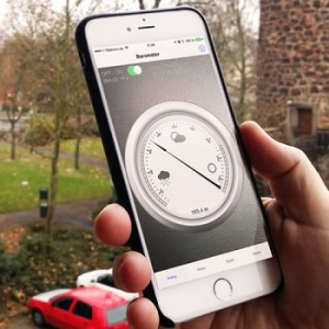iPhone 6 barometer features