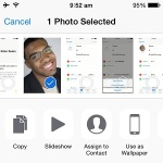 ios assign picture to contact feature