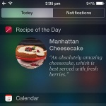 kitchen stories recipe of the day widget view