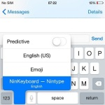nintype keyboard activation