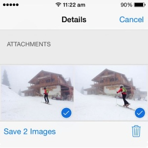 saving photos from iphone messages