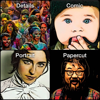 Turn Photos In Cartoons, Sketches Or Caricatures With Pic2Comic
