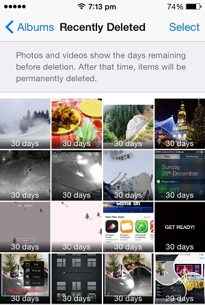 How To Recover Deleted iOS Photos and Videos