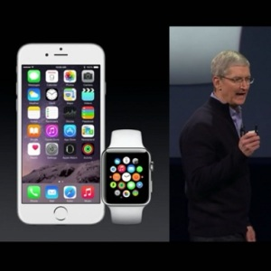 apple watch tim cook presentation