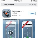 how to record an outgoing call on iphone