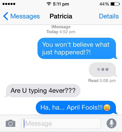 Top 10 iOS Apps For April Fools | iPhoneTricks org