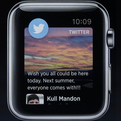 Twitter Updates For Apple Watch