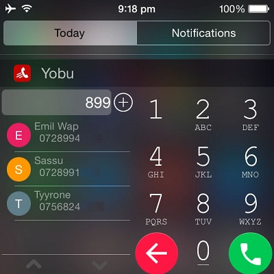 Yobu Brings Android-Like Dialing To iPhone | iPhoneTricks org