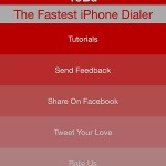 yobu the fastest iphone dialer