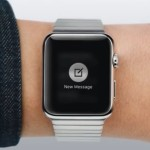 apple watch create new message screen