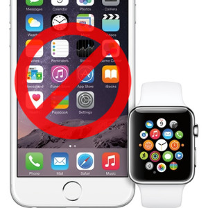 apple watch features when iphone not in range