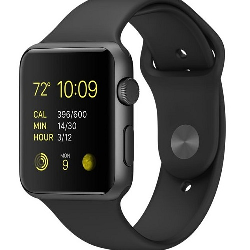 Space Gray Case & Black Sports Band The Most Popular Apple ...