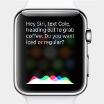 asking siri to text a message via Apple Watch