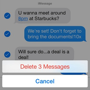 How To Delete Messages From iOS Conversation Threads