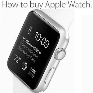 how to buy apple watch