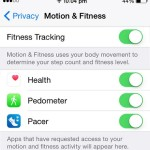 iphone fitness tracking active