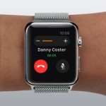 ongoing apple watch phone call