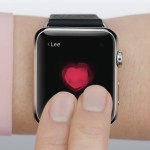two fingers on apple watch screen to share heartbeat
