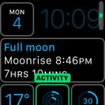 activity rings on watch face customization
