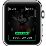 adding world clock complication to mickey mouse