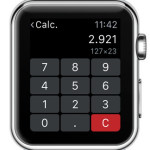apple watch calculator multiplication