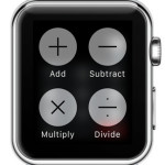 apple watch calculator operations