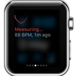 apple watch live heart rate measurement
