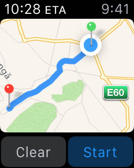 Tips For Using Maps on Apple Watch | iPhoneTricks.org Drop Pin Maps on